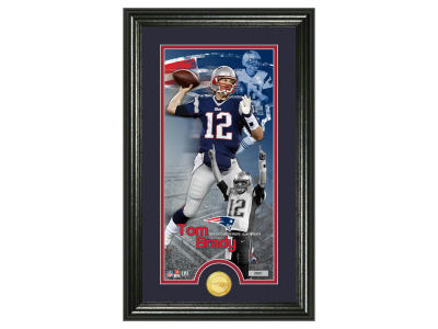 New England Patriots Tom Brady Supreme Bronze Coin Photo Mint