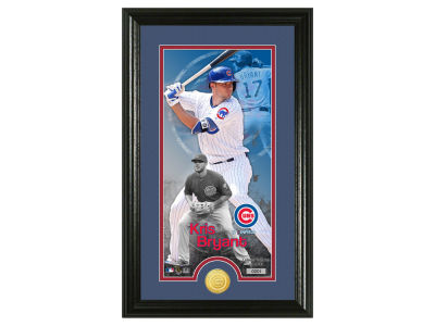 Chicago Cubs Kris Bryant Supreme Bronze Coin Photo Mint
