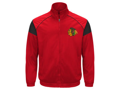 Chicago Blackhawks GIII NHL Men's Track Jacket