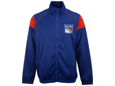 New York Rangers GIII NHL Men's Track Jacket