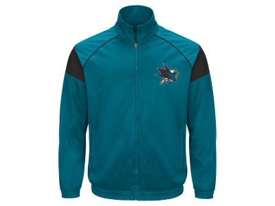 San Jose Sharks GIII NHL Men's Track Jacket