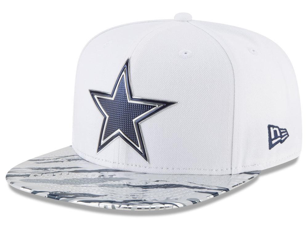 84ce1e5ed Dallas Cowboys New Era 2016 NFL On Field Color Rush 9FIFTY Snapback Cap