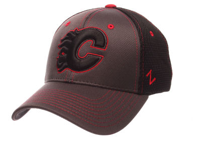 Calgary Flames Zephyr NHL Blacklight Flex Hat