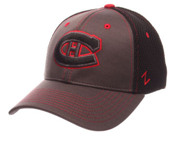 Montreal Canadiens Zephyr NHL Blacklight Flex Hat