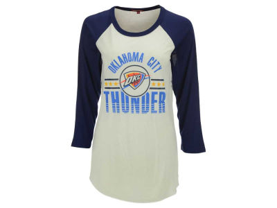 Oklahoma City Thunder Mitchell and Ness NBA Women's Victory Raglan T-Shirt