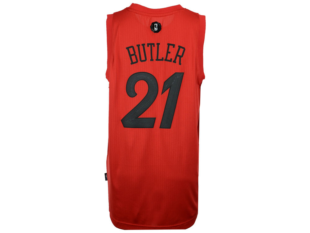 cf95bc124 ... good chicago bulls jimmy butler adidas nba mens christmas day swingman  jersey lids 2736c d3cc9