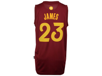 Cleveland Cavaliers LeBron James adidas NBA Men's Christmas Day Swingman Jersey