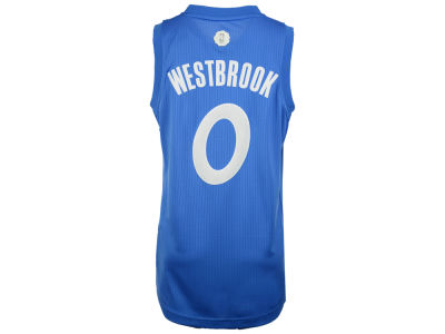 Oklahoma City Thunder Russell Westbrook adidas NBA Men's Christmas Day Swingman Jersey