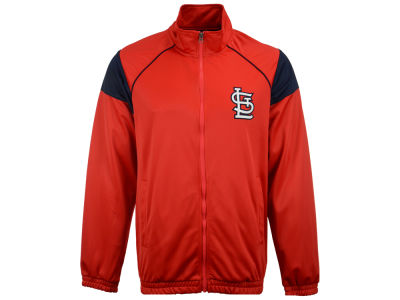 St. Louis Cardinals GIII MLB Men's End of Season Track Jacket