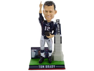 New England Patriots Tom Brady Wincraft Base Bobble