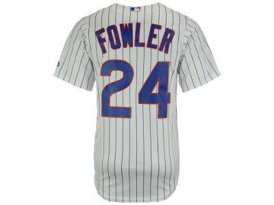 Chicago Cubs Dexter Fowler Majestic MLB Men's Player Replica CB Jersey