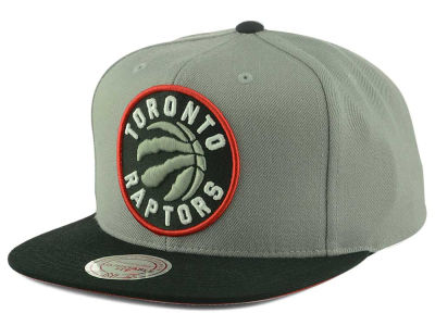Toronto Raptors Mitchell and Ness NBA 2 Tone Chase Snapback Cap