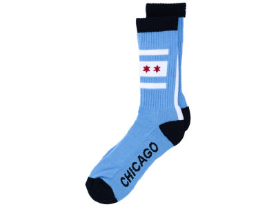 Chicago Cubs '47 Bolt Crew Socks
