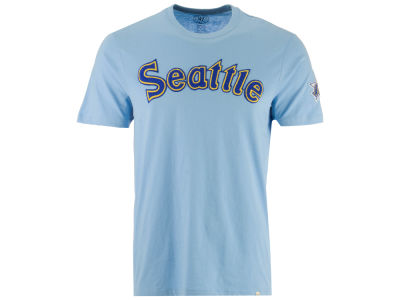 Seattle Mariners '47 MLB Men's Rundown Fieldhouse T-Shirt