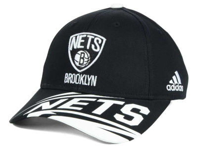 Brooklyn Nets adidas NBA Youth Layup Adjustable Cap