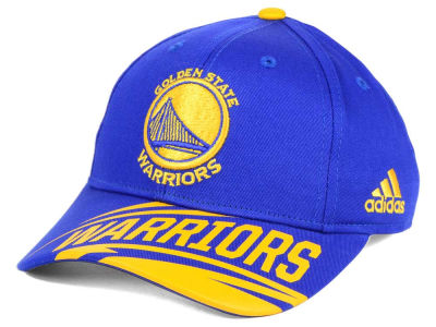 Golden State Warriors adidas NBA Youth Layup Adjustable Cap