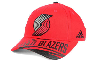 Portland Trail Blazers adidas NBA Youth Layup Adjustable Cap