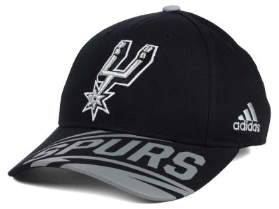 San Antonio Spurs adidas NBA Youth Layup Adjustable Cap