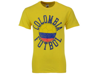 Colombia National Team Men's Flag Ball Graphic T-Shirt
