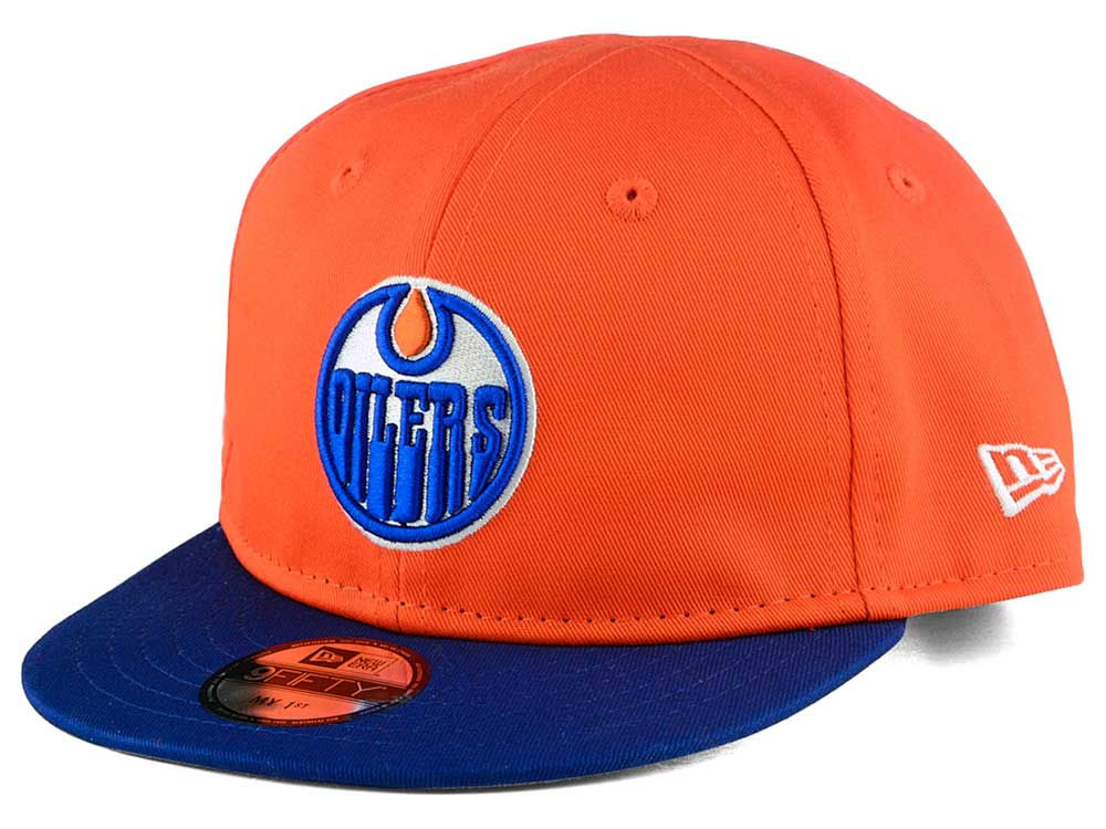 Edmonton Oilers New Era NHL Infant My First 9FIFTY Snapback Cap ... c4049e47463