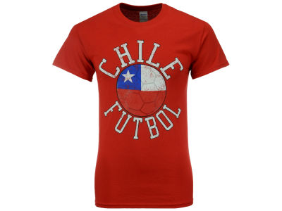 Chile National Team Men's Flag Ball Graphic T-Shirt