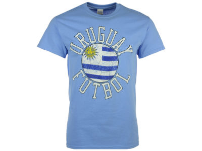 Uruguay National Team Men's Flag Ball Graphic T-Shirt