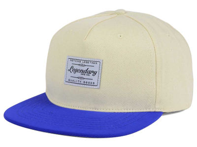 Legendary MFG Two Tone Patch Snapback Cap