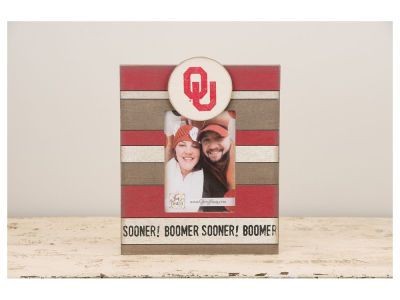 Oklahoma Sooners 10x12 Striped Frame