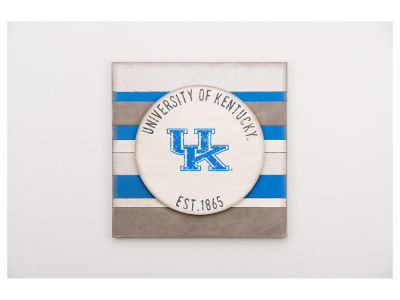 Kentucky Wildcats 16x16 Striped Sign