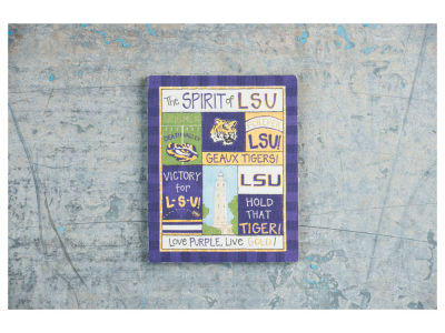 LSU Tigers 	 Spirit Magnet