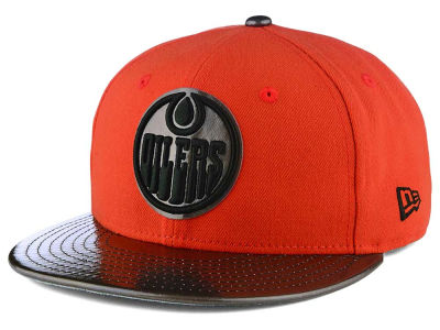 Edmonton Oilers New Era NHL Shine Start 9FIFTY Snapback Cap