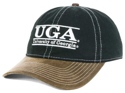 Georgia Bulldogs NCAA Leather Goods Adjustable Cap