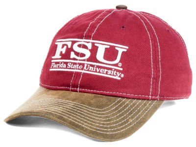 Florida State Seminoles NCAA Leather Goods Adjustable Cap