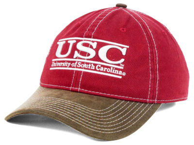 South Carolina Gamecocks NCAA Leather Goods Adjustable Cap