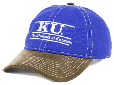 Kansas Jayhawks NCAA Leather Goods Adjustable Cap