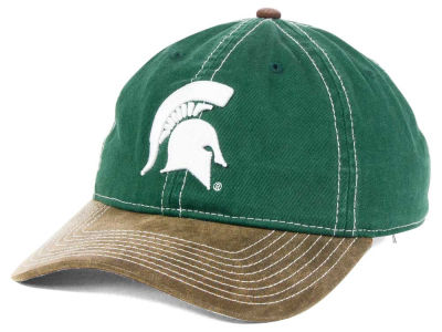 Michigan State Spartans NCAA Leather Goods Adjustable Cap