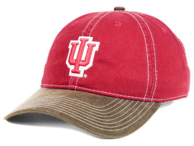 Indiana Hoosiers NCAA Leather Goods Adjustable Cap