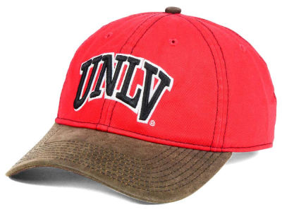 UNLV Runnin Rebels NCAA Leather Goods Adjustable Cap