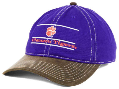 Clemson Tigers NCAA Leather Goods Adjustable Cap
