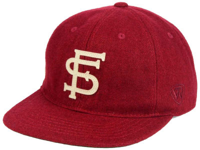 Florida State Seminoles Top of the World NCAA Heritage Collection Strapback Cap