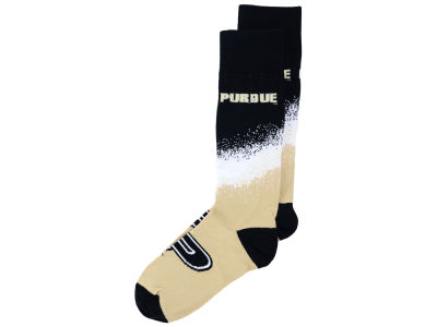 Purdue Boilermakers For Bare Feet Marquee Crew Socks