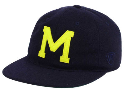 Michigan Wolverines Top of the World NCAA Heritage Collection Strapback Cap