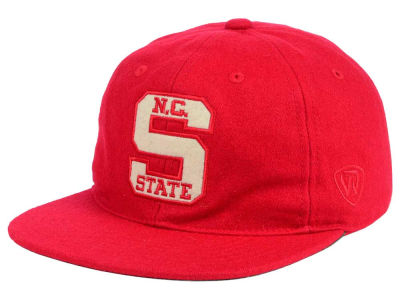 North Carolina State Wolfpack Top of the World NCAA Heritage Collection Strapback Cap