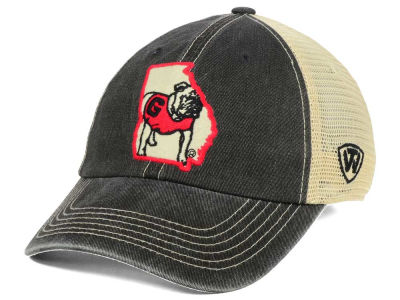 Georgia Bulldogs Top of the World NCAA Heritage Collection Mesh Trucker Cap