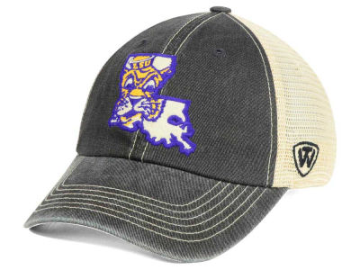 LSU Tigers Top of the World NCAA Heritage Collection Mesh Trucker Cap