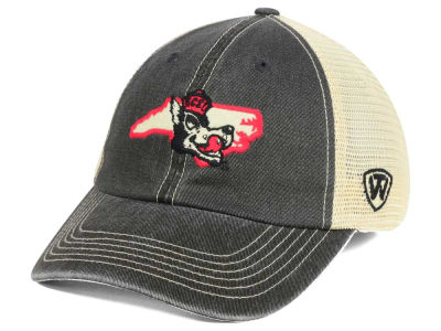 North Carolina State Wolfpack Top of the World NCAA Heritage Collection Mesh Trucker Cap