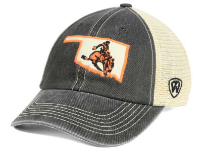 Oklahoma State Cowboys Top of the World NCAA Heritage Collection Mesh Trucker Cap