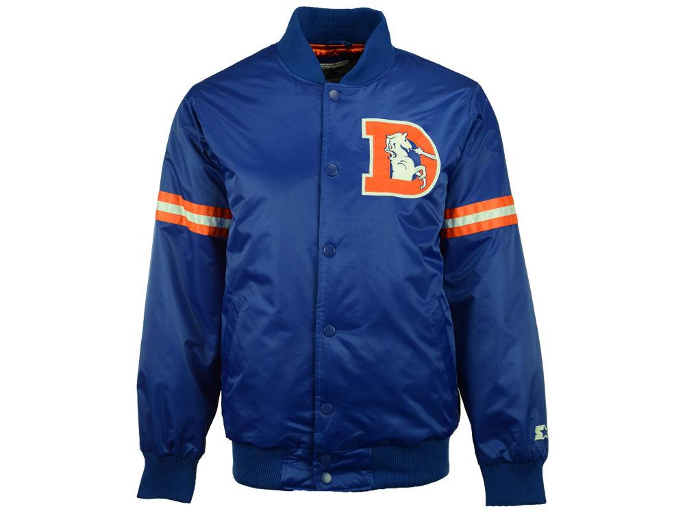 Denver Broncos G-III Sports NFL Men s Starter Satin Jacket  9f4af5075
