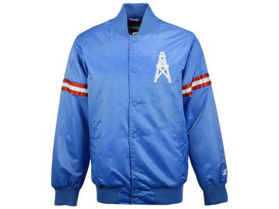 Houston Oilers GIII NFL Men's Starter Satin Jacket