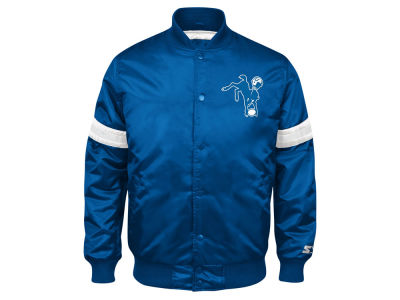Indianapolis Colts GIII NFL Men's Starter Satin Jacket